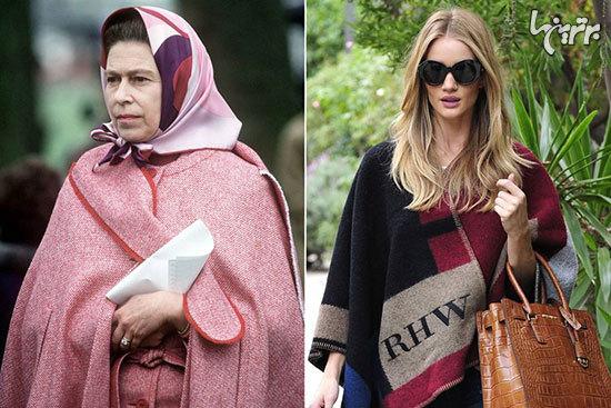 لباسهایی که ملکه انگلیس مد کرد!
