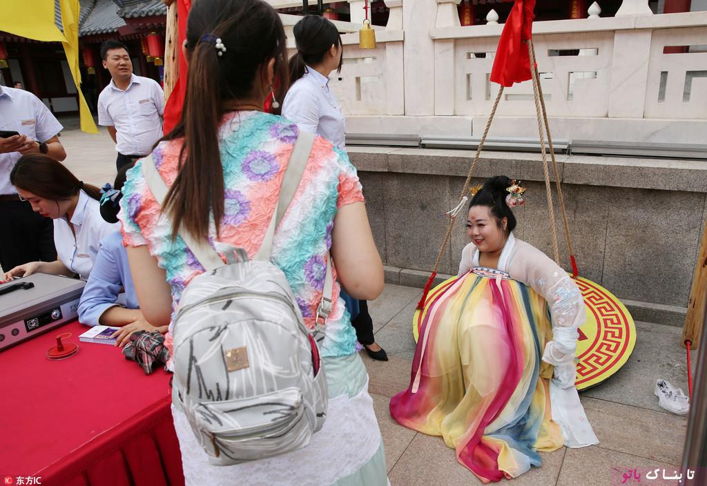 جایزه برای زنان چاق در چین