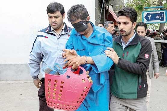 قاتل ندا، دختر شش ساله مشهدی محاکمه شد +عکس