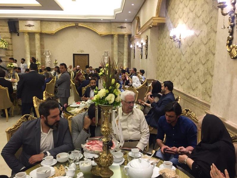 چه کسانی در مراسم افطاری باشگاه استقلال بودند؟ +تصاویر