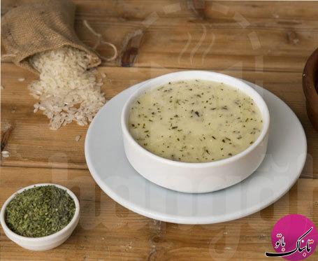 طرز تهیهی یک نوع سوپ ترکیهای