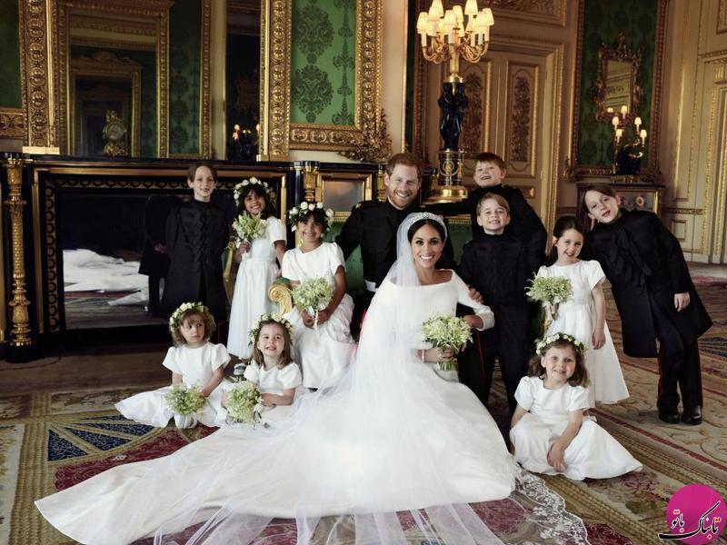 آیا مگان مارکل واقعا یک عروس ساده بود؟!