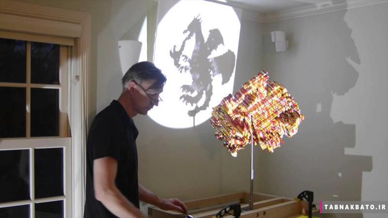 آثار سه بعدی شگفت انگیز یک ریاضیدان