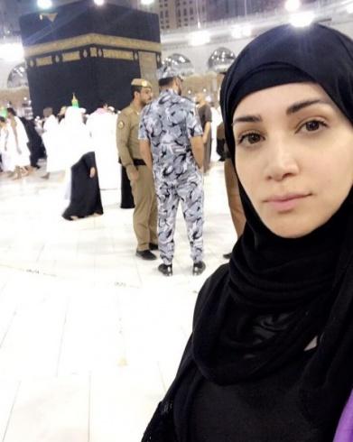 محجبه شدن خواننده سرشناس عرب + عکس