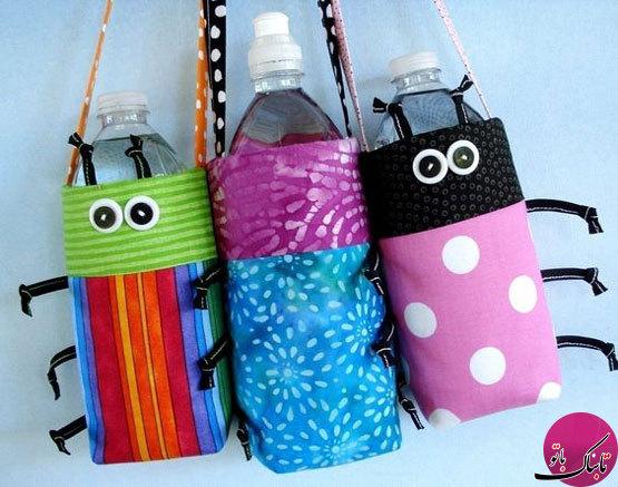 ایدههایی جالب برای حمل بطری آب