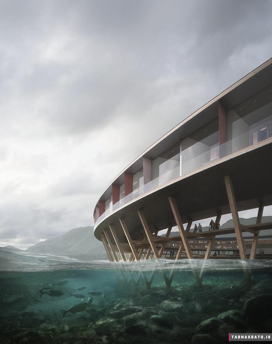 ساخت هتل دایره ای؛ سازگارترین هتل با محیط زیست