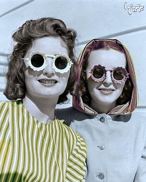 سیر تحول عینک آفتابی از ۱۹۲۰ تاکنون