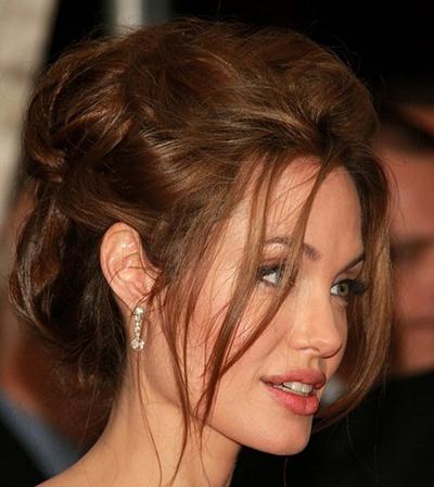 بهترین مدل مو جمع به سبک آنجلینا جولی