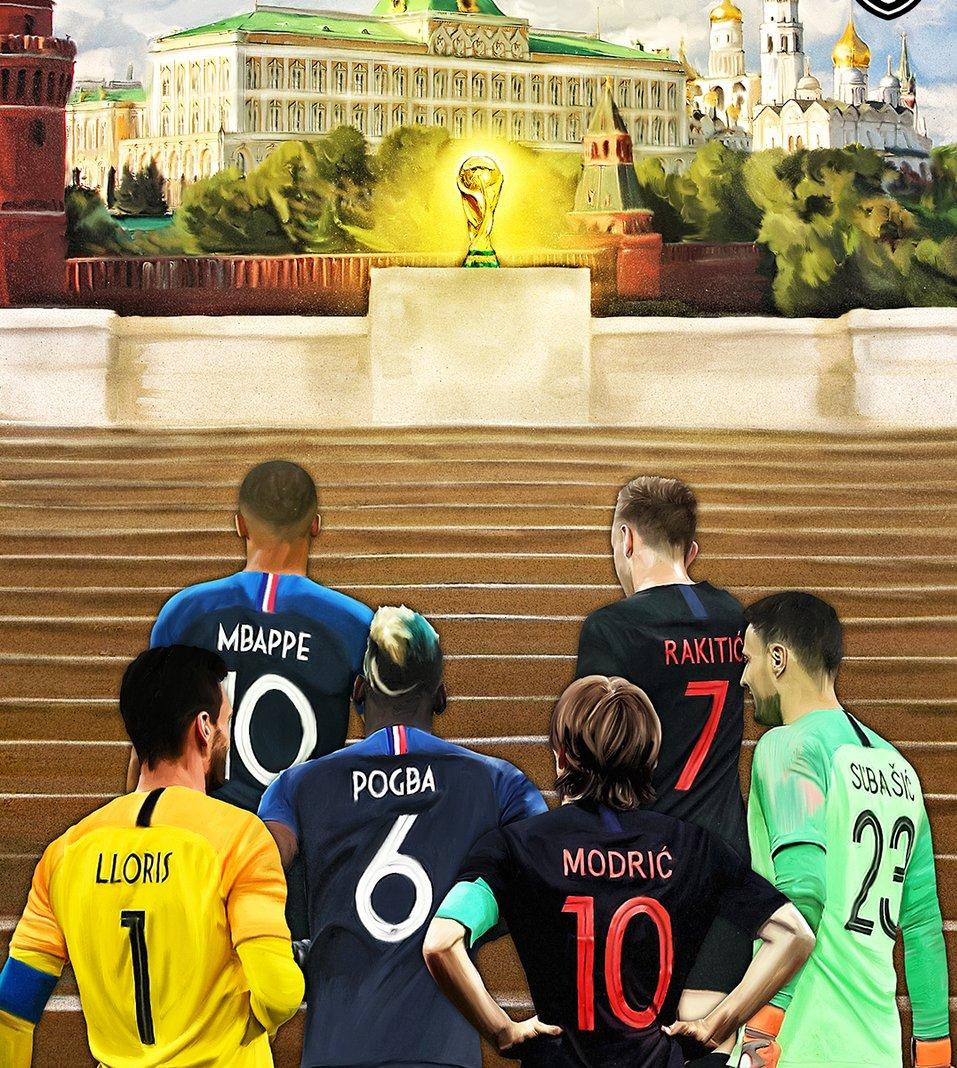 برگزار کننده دیدار فینال جام جهانی روسیه +عکس