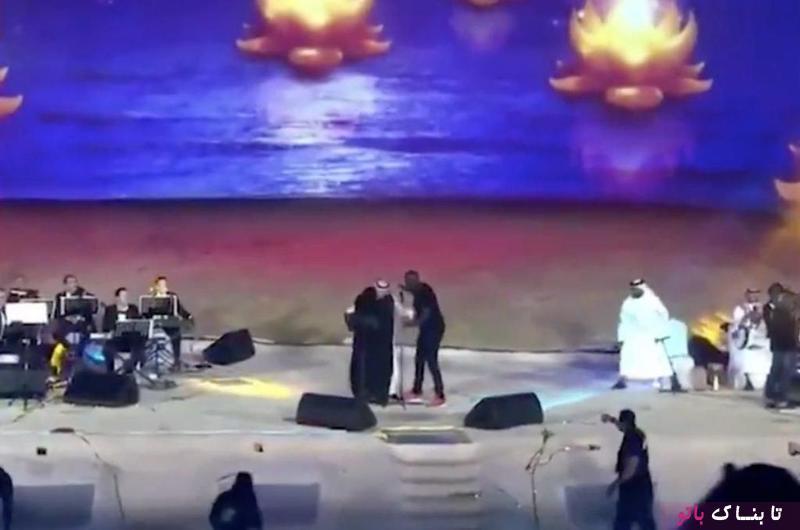 دستگیری زن عربستانی به جرم در آغوش گرفتن خواننده مرد