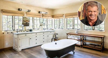 دکوراسیون حمام خانه ستاره های هالیوود