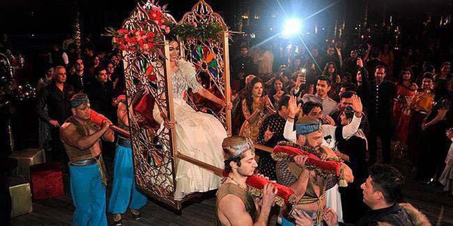 عروسی مجلل ۵ میلیون دلاری در آنتالیا + عکس