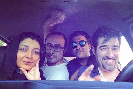 ساره بیات و شهاب حسینی در «لابیرنت» +عکس