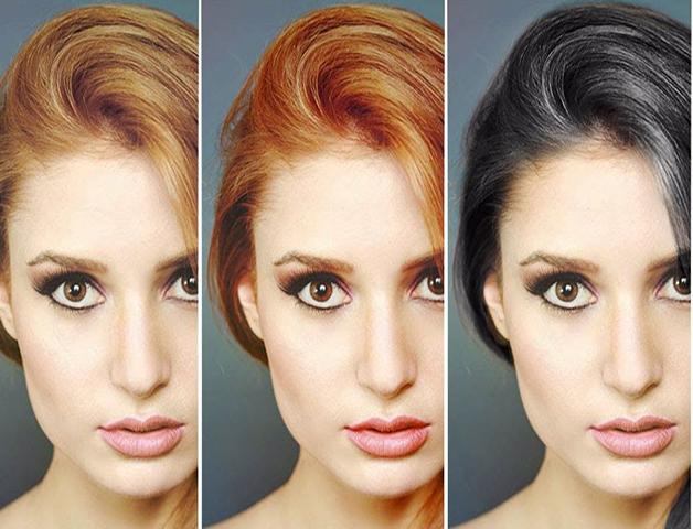 17 فرمول از رنگ های زیبا و پرطرفدار مو