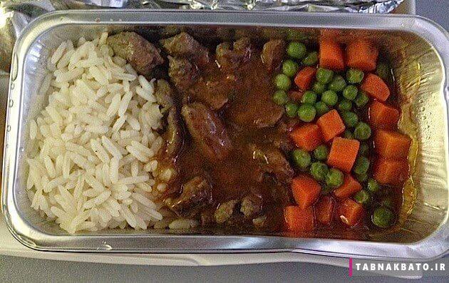 غذای هواپیماها در دوران طلایی خطوط هوایی جهان