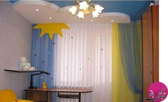 مدلهای متنوع پردهی اتاق کودک