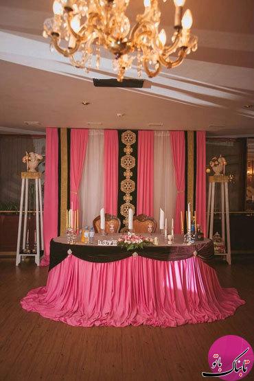 چیدمان سالن عروسی به سبک هندی