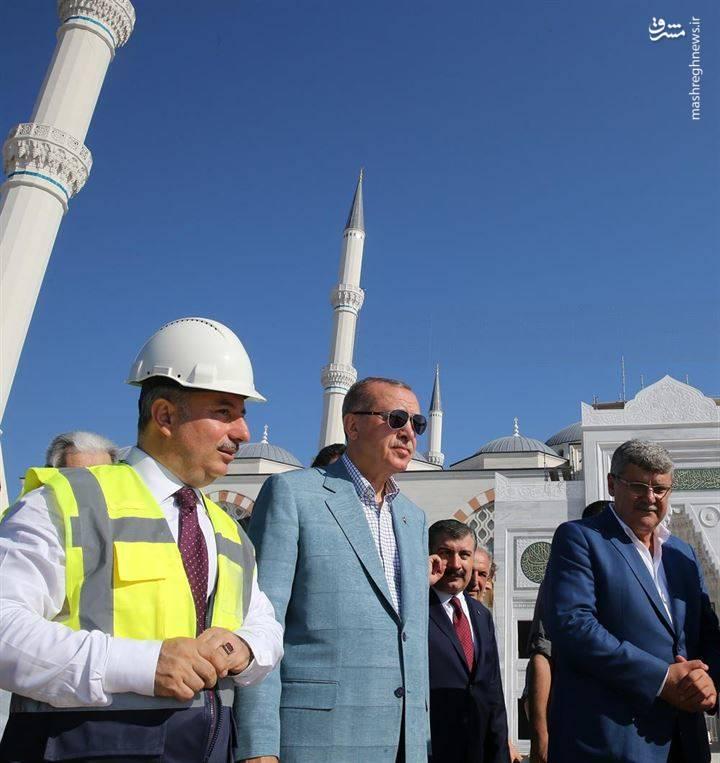 محافظت از اردوغان با موشک استینگر+عکس