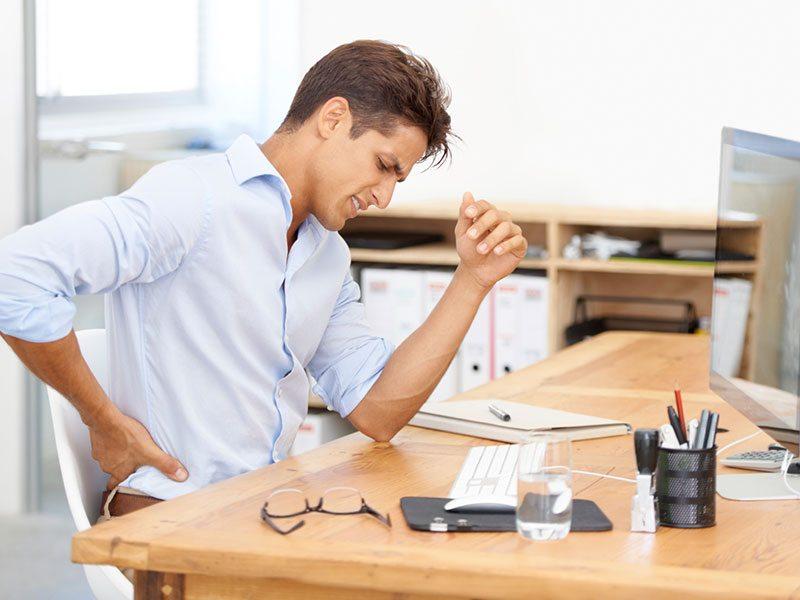 چه کنیم که درد پشت در خانه و محل کار بازنگردد