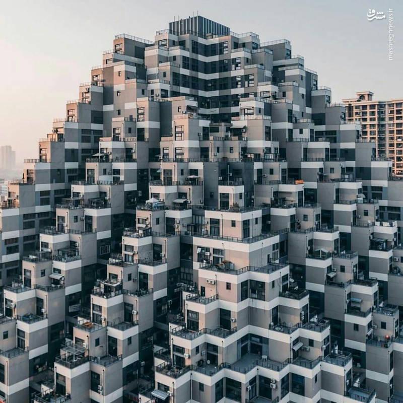 آپارتمانی به سبک اهرام مصر+عکس