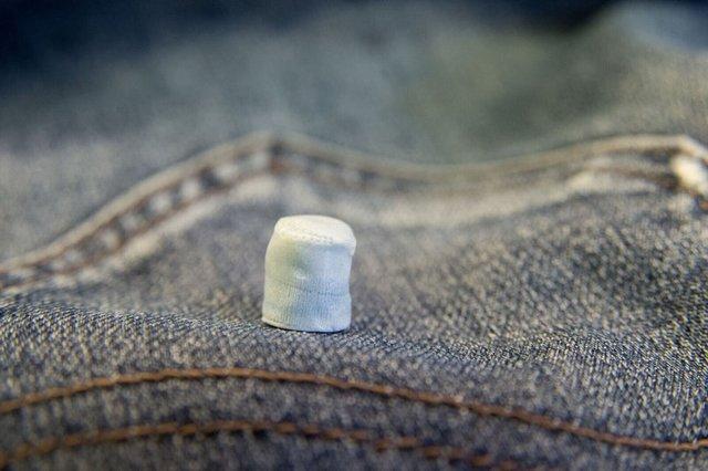 غضروف مصنوعی از جنس شلوار جین ساخته شد +عکس