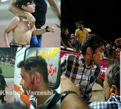 جزئیات تازه از شب خونین ورزشگاه غدیر اهواز+عکس