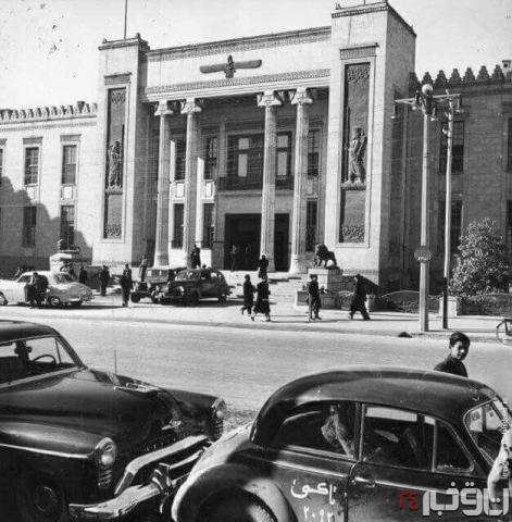 تصویری از اولین شعبه بانک ملی
