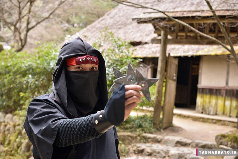 روستاهای ژاپنی که هنوز نینجا دارند
