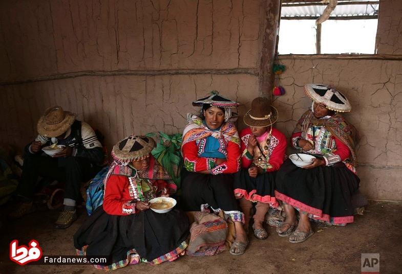 پوشش متفاوت زنان قاطرچی +عکس