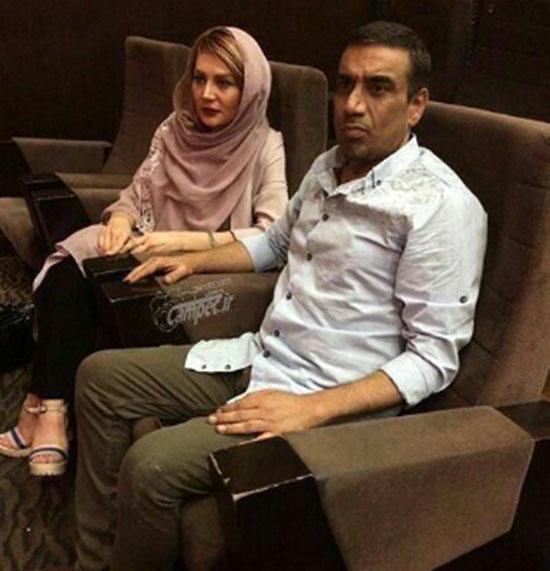 بازیگر طنز و همسرش عزادار شدند +عکس
