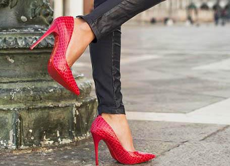 راهکارهایی برای راحت پوشیدن کفش های پاشنه بلند