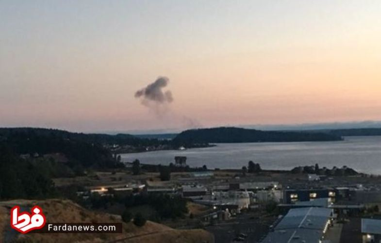 ربوده شدن و سقوط هواپیما در آمریکا +عکس