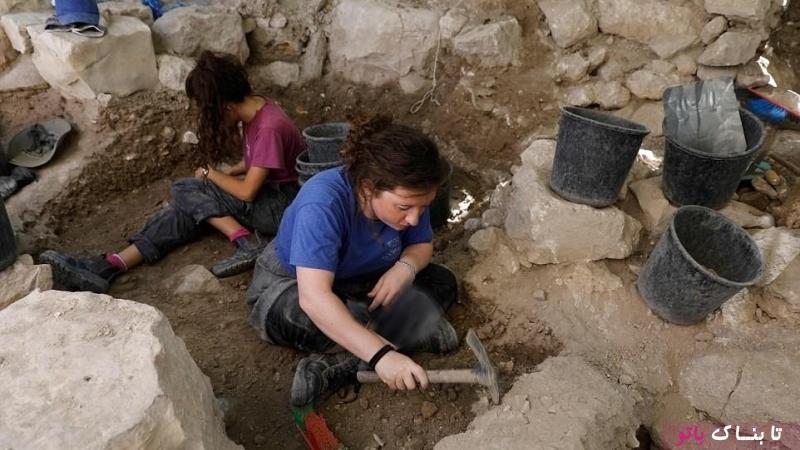 کشف گوشواره با قدمت 2000 سال در قدس