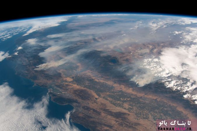 عکس های هوایی منتشر شده از آتش سوزی های کالیفرنیا