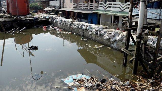 پایتختی که در حال غرق شدن است+عکس