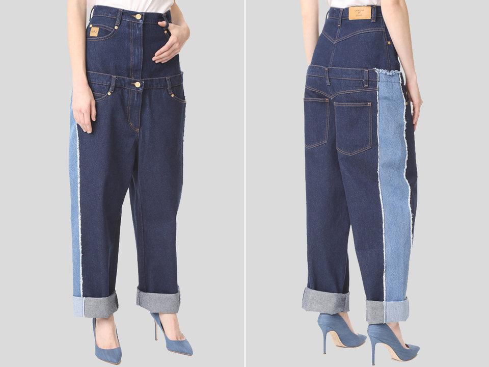 مدل های احمقانه و باورنکردنی لباس های جین