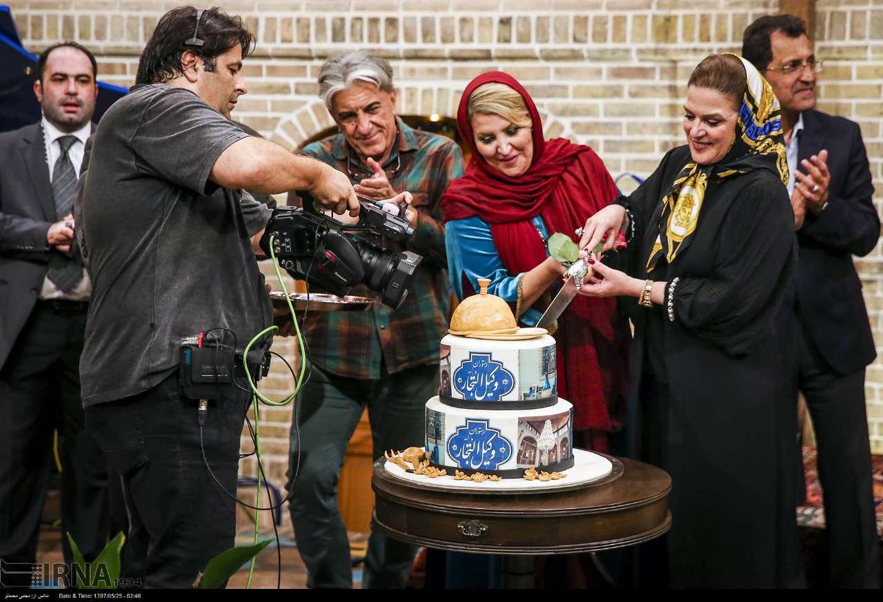رضا کیانیان در افتتاحیه یک رستوران+عکس