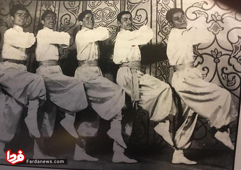 لباس سنتی عزت الله انتظامی در جوانی +عکس