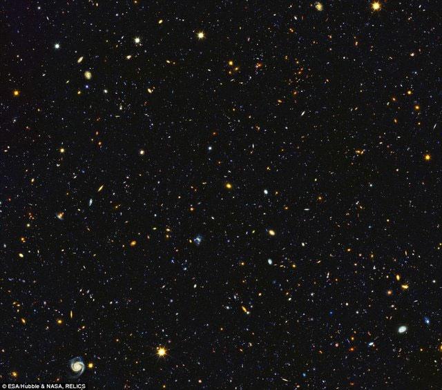 ۱۵ هزار کهکشان در یک قاب
