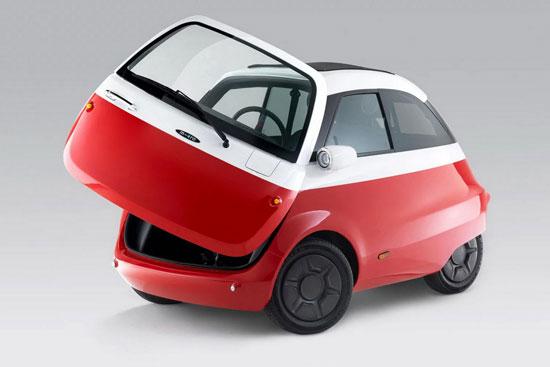 ساخت خودرویی حبابی با الهام از نوستالژی بامو+عکس
