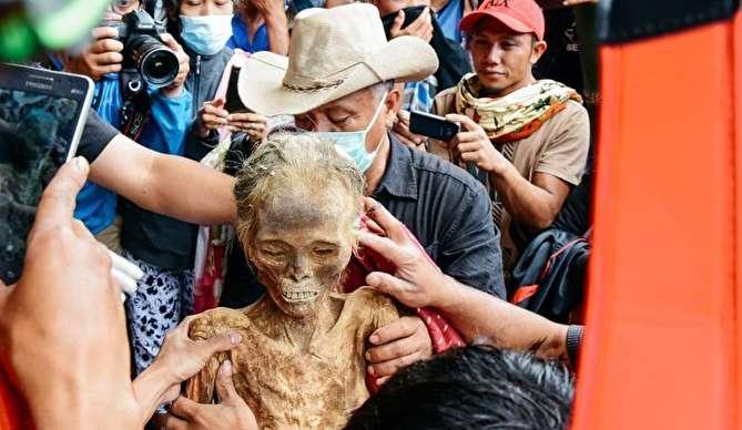 جسد سالم و عجیب زن تروجایی پس از سی سال