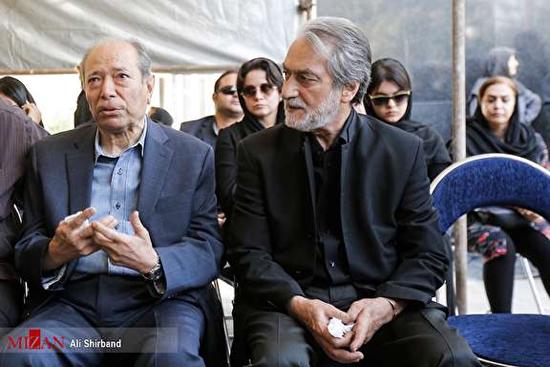 برگزاری مراسم تشییع «عزتالله انتظامی»+عکس
