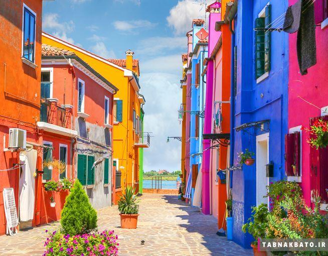 جزیره بورانو ایتالیا