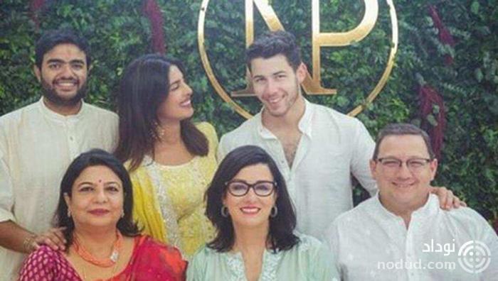 خواننده پاپ با هنرپیشه هندی ازدواج کرد +عکس