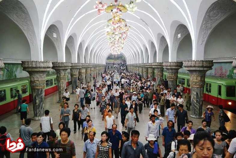 عمیقترین مترو جهان +عکس