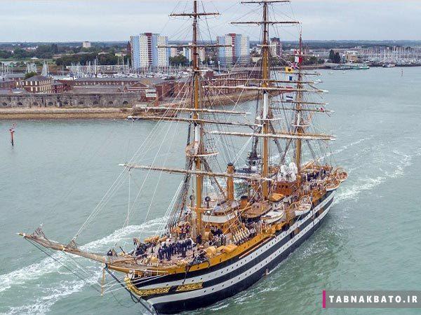 زیباترین کشتی آموزشی جهان