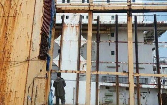 کشتی ارواح در ساحل میانمار چه می کند؟!