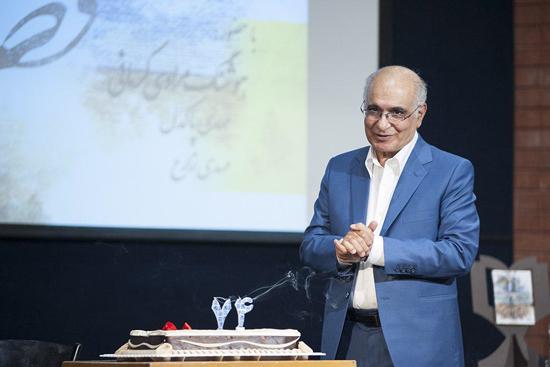 کیک تولد ۷۴ سالگی خالق «قصههای مجید» +عکس
