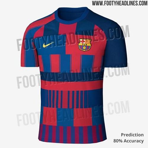 طراحی جالب لباس بعدی بارسلونا +عکس