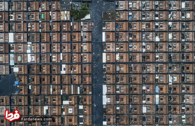 عکس هوایی باورنکردنی از نظم چینی